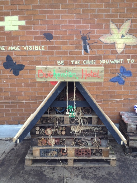 FOOD from the SKY- Bug Hotel